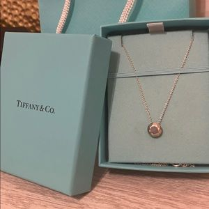 Tiffany Necklace- Elsa Peretti Two Carat Pendant